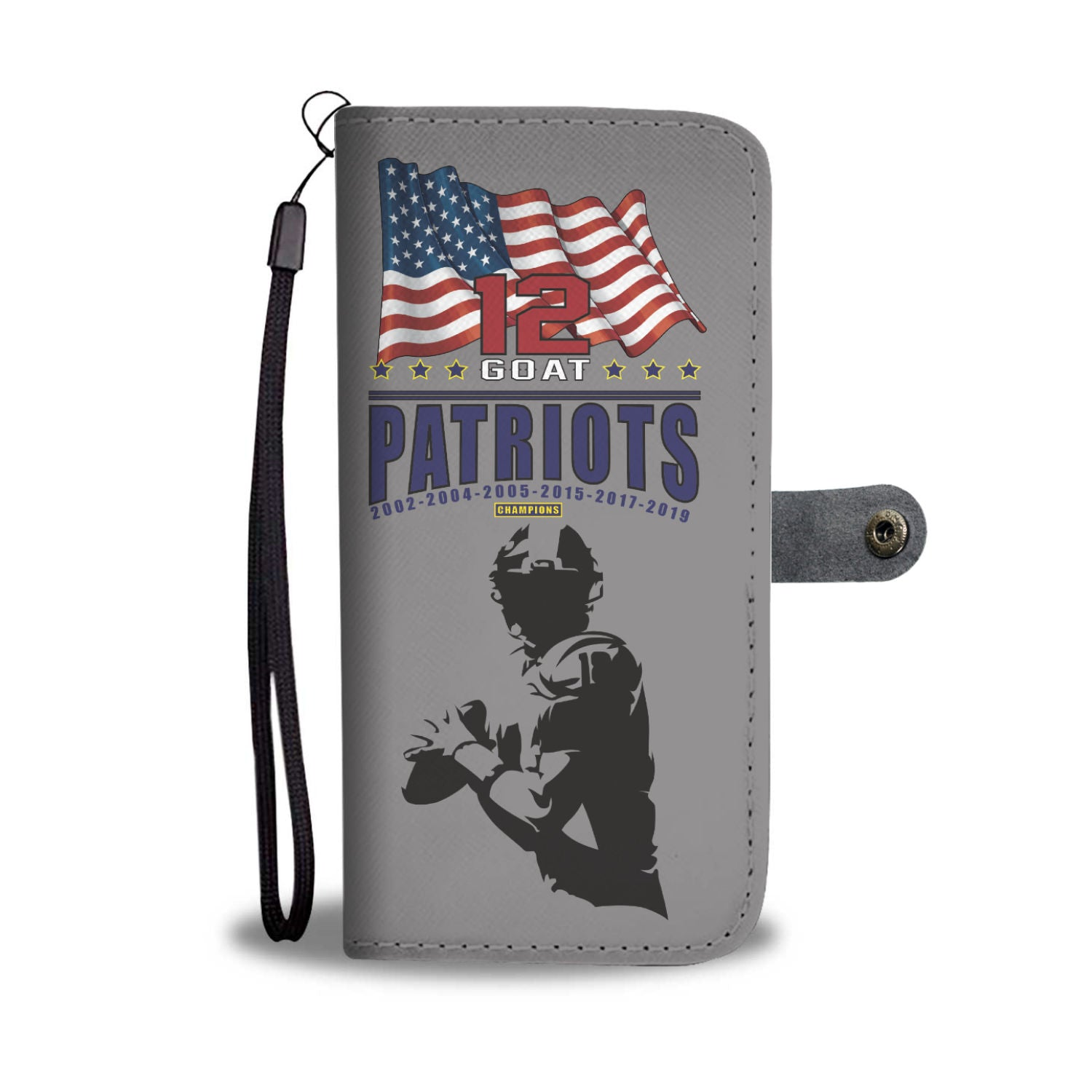 The GOAT & Patriots Wallet Case