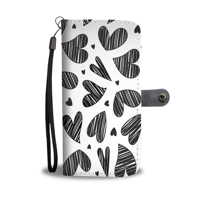 Hearts Wallet Phone Case