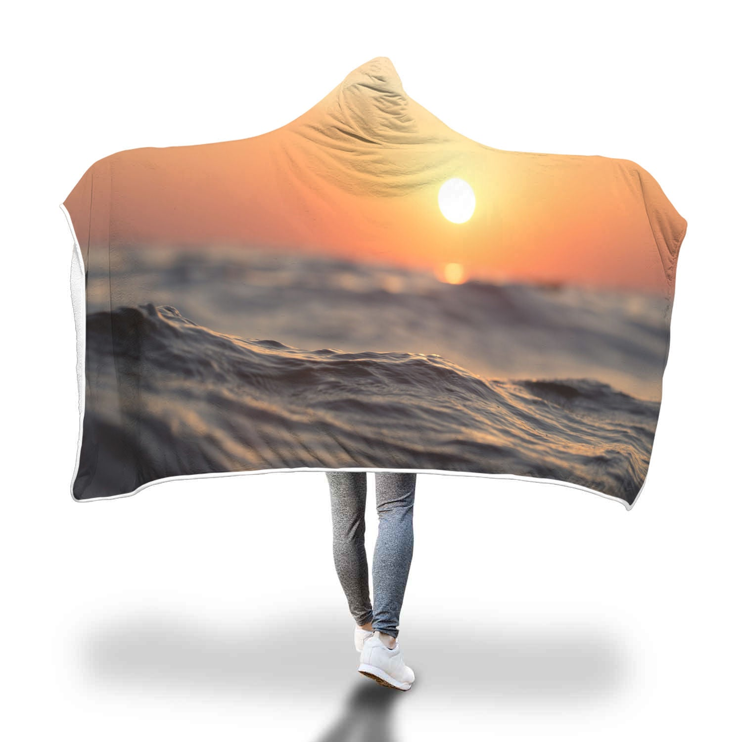 Sunset Hooded Blanket