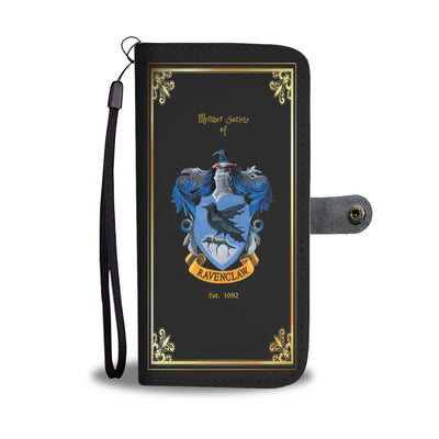 Black Ravenclaw Wallet Phone Case