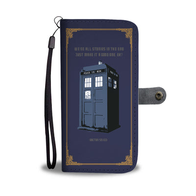 Doctor Who Book Wallet Phone Case