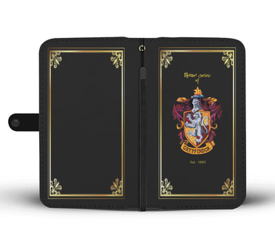 Gryffindor Wallet Phone Case (Black)