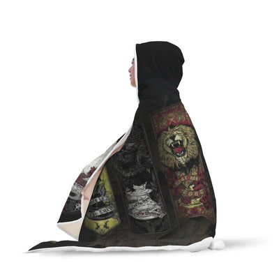 Kings of Thrones Hooded Blanket