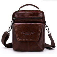 Men High Quality Genuine Leather Cowhide Retro Handbag Casual Tourism Business Messenger Shoulder Bags Handbags
