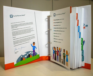 New Dividers for Grief Recovery Specialist Binder