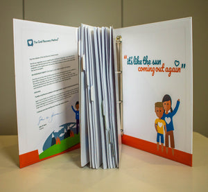 New Grief Recovery Specialist Binder, Dividers & Handbook Content