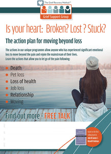 Grief Recovery Group Free Talk Promo Poster