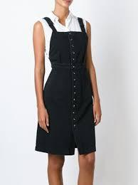 MiH denim dungaree dress
