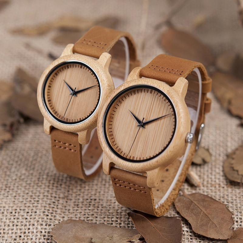 unique handmade wood relogio mens in quartz uwood watches fashion men brand sandal wristwatch from natural feminino black luxury item wooden