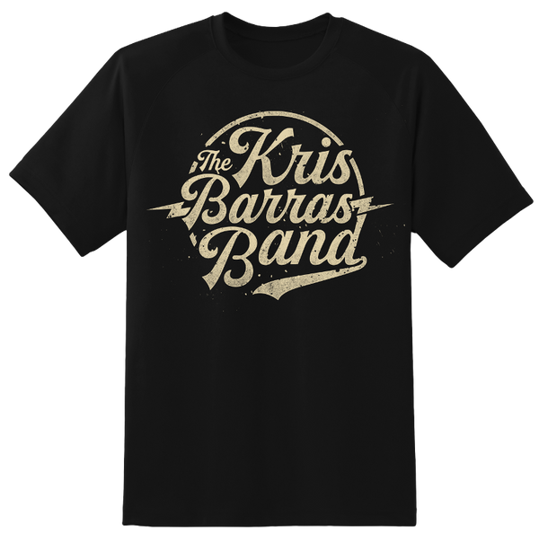 KRIS BARRAS BAND LOGO T-SHIRT
