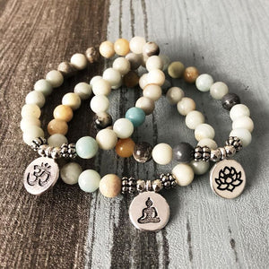 Communication Facilitating Amazonite Bracelet - Bead Bracelets