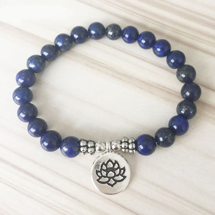 Self-Awareness Enhancing Lapis Lazuli Bracelet - Bracelets