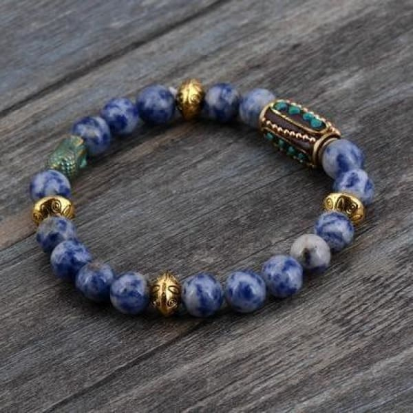 Soothing And Healing Sodalite Bracelet - Bracelets