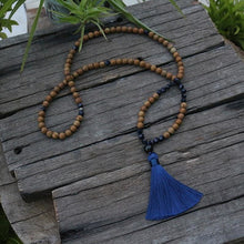 Tigerskin Jasper Mala Necklace - Necklace