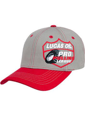 Pro Pulling Off Center Hat - Red