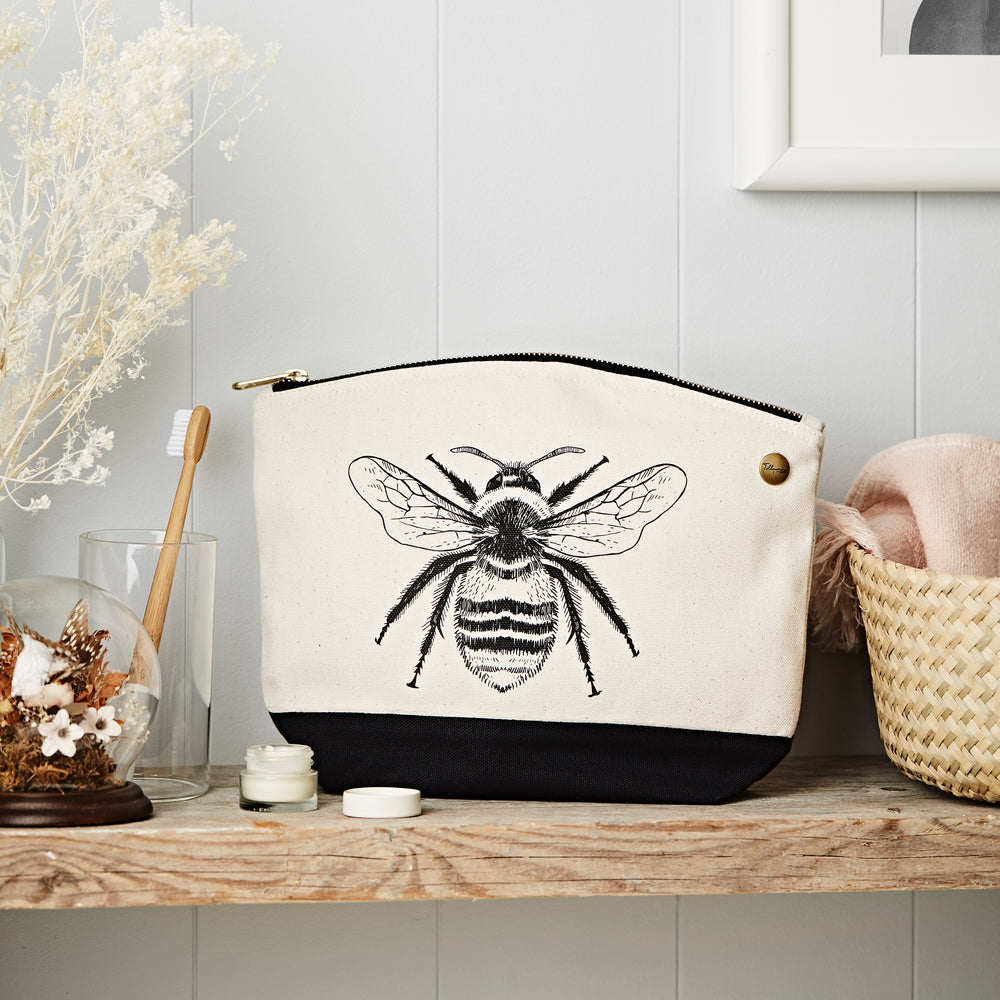 Bee Canvas Pouch