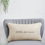 Little dreamer linen cushion