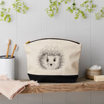 Hedgehog Canvas Pouch