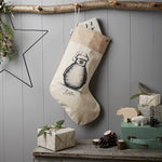 Personalised Penguin Christmas Stocking