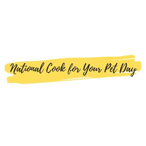 3 Fun & Easy Dog Friendly Recipes for National Cook for Your Pet Day