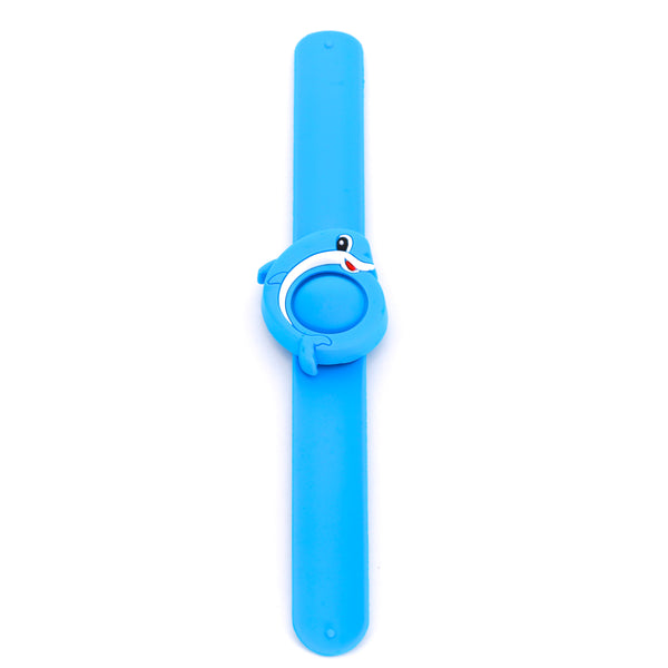 Slap-it Cartoon Mosquito Bands - Blue Dolphin