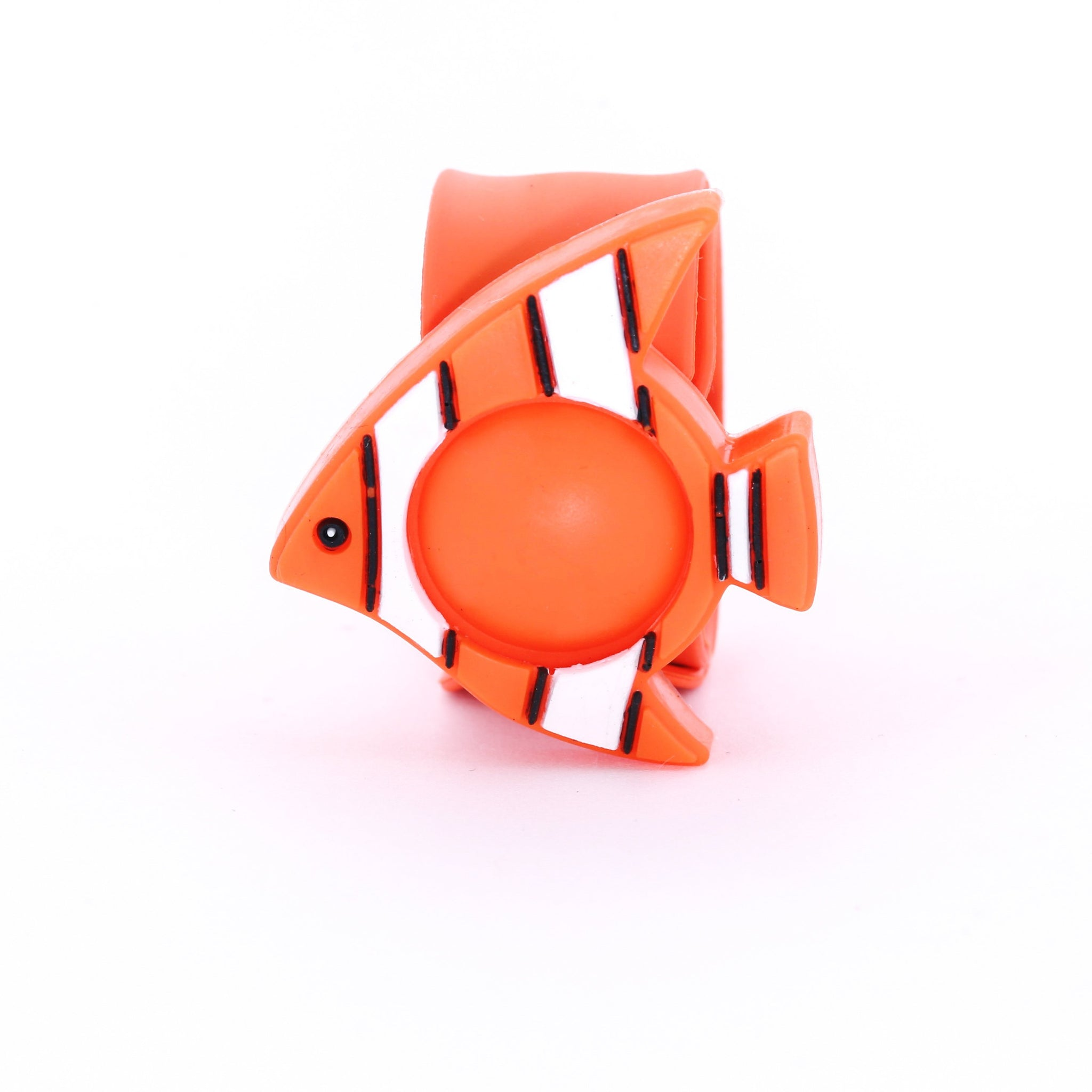 Slap-it Cartoon Mosquito Bands - Orange Clownfish