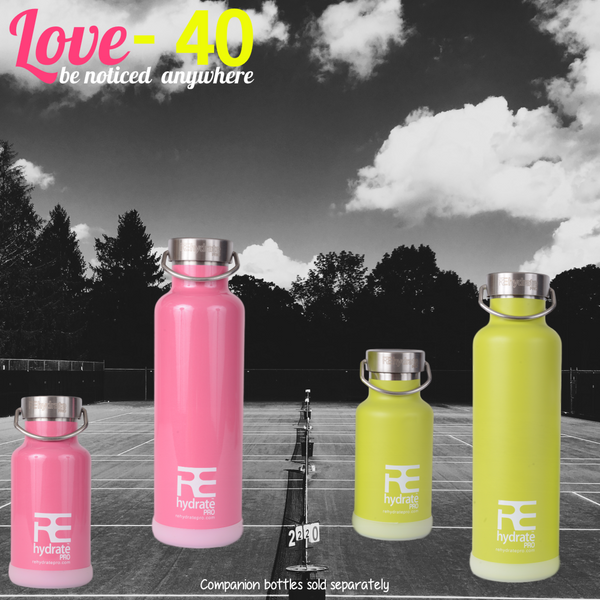 Rehydrate Pro (Pink 25oz) Double-Insulated Stainless Steel Water Vacuum Bottle Flask