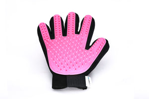 Pet Grooming Glove - Pink