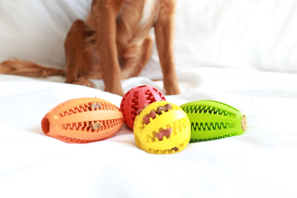 Dog Treat Ball - Red