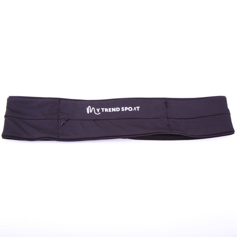 Unisex Running Belt - Black