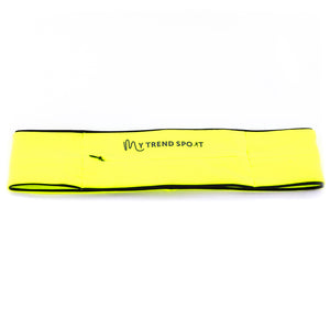 My Trend Sport Running Belt - Yellow