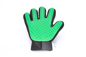 Pet Grooming Glove - Green