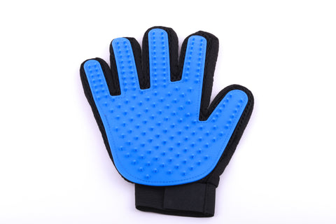 Pet Grooming Glove - Blue