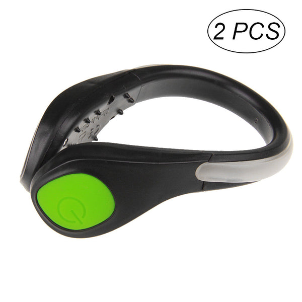 LED Shoe Light Clips Safety Night Running Gear for Runners Joggers Bikers Walkers