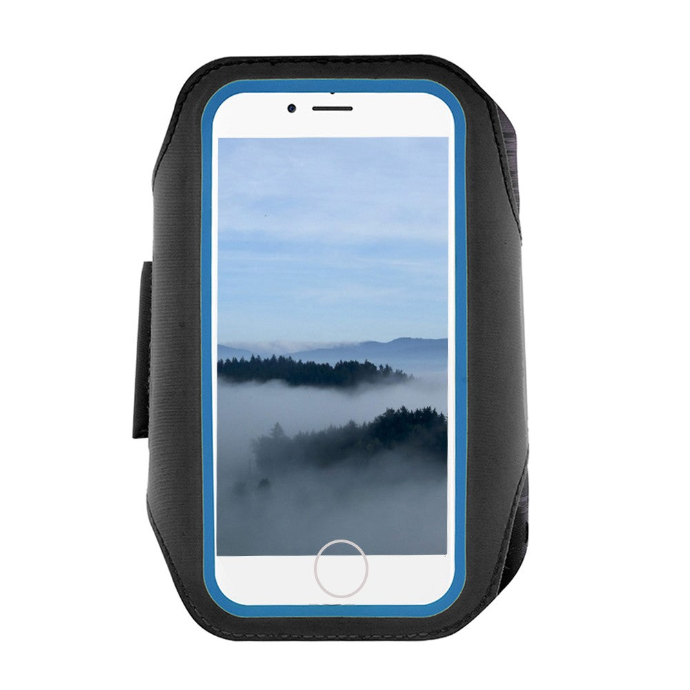 Multifunctional Outdoor Sports Running Arm Bag Touch Screen Fingerprint Unlocking Breathable Mobile Phone Arm Band