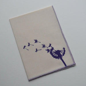 Organic Hanky Dandelion Flower Blowing Handkerchief Hankies Wedding Favor Hankerchief
