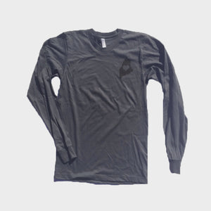 Unisex Long Sleeve Shirt Grey - Maine State Love