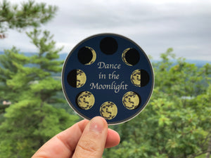 Dance in the Moonlight Sticker