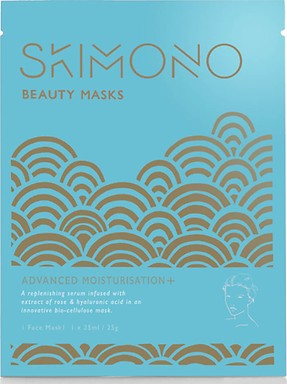 SKIMONO BEAUTY FACE MASK FOR ADVANCED MOISTURISATION 25ML - perfumesbaratos.com