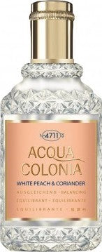 4711 ACQUA COLONIA WHITE PEACH & CORIANDER NATURAL SPRAY - perfumesbaratos.com