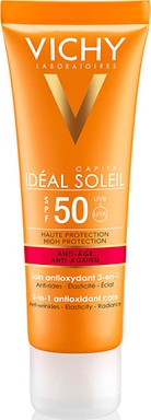 VICHY IDEAL SOLEIL ANTI AGE FACE SPF 50
