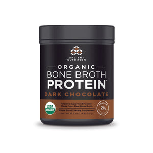 Organic Bone Broth Protein Dark Chocolate - 18.2 Oz (515g)