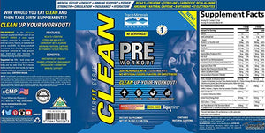 Clean Pre Workout - 1.25 lb Strawberry Lemonade