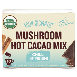 Mushroom Hot Cacao with Reishi - 10 Packets