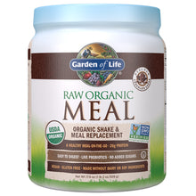 Raw Organic Meal Chocolate