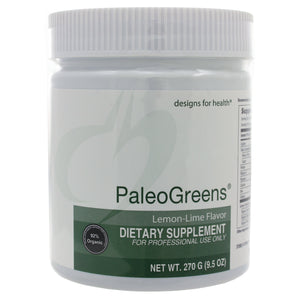 PaleoGreens Organic powder-Lemon/Lime Flavor - 9.5 Oz (270g)