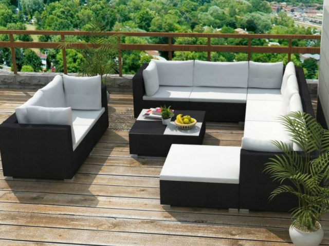 luxe loungeset best destiny round polyrattan lounge chairs loungeset luxe sunrise ii with. Black Bedroom Furniture Sets. Home Design Ideas
