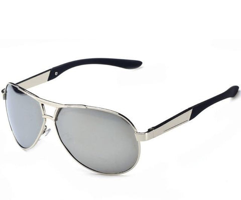 Kane - Modern Mirrored Aviator Sunglasses - SunShutterz