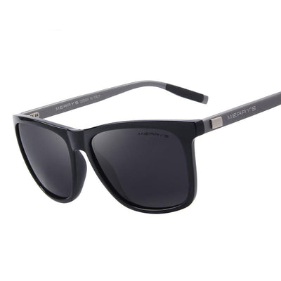 Brett - Men's Retro Aluminum Sunglasses - Sunglass Society