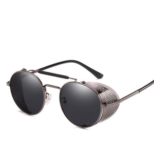 MuseLife Retro Round Metal Sunglasses - SunShutterz